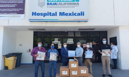 DONÓ FUNDACIÓN INDEX MEXICALI 800 CARETAS AL HOSPITAL ISSSTECALI